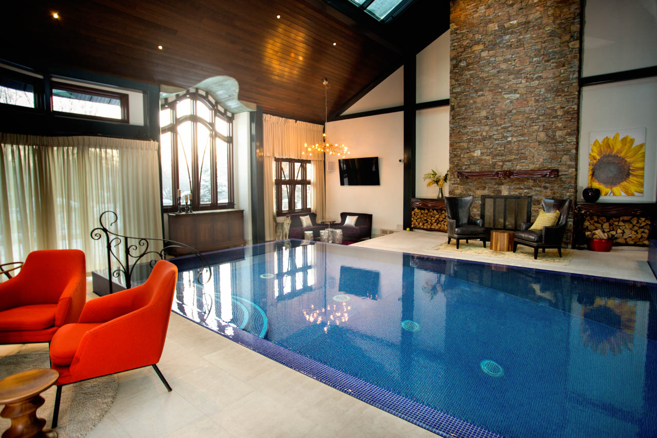 Rocky Mountain Pools and Spas Indoor Pool Installation