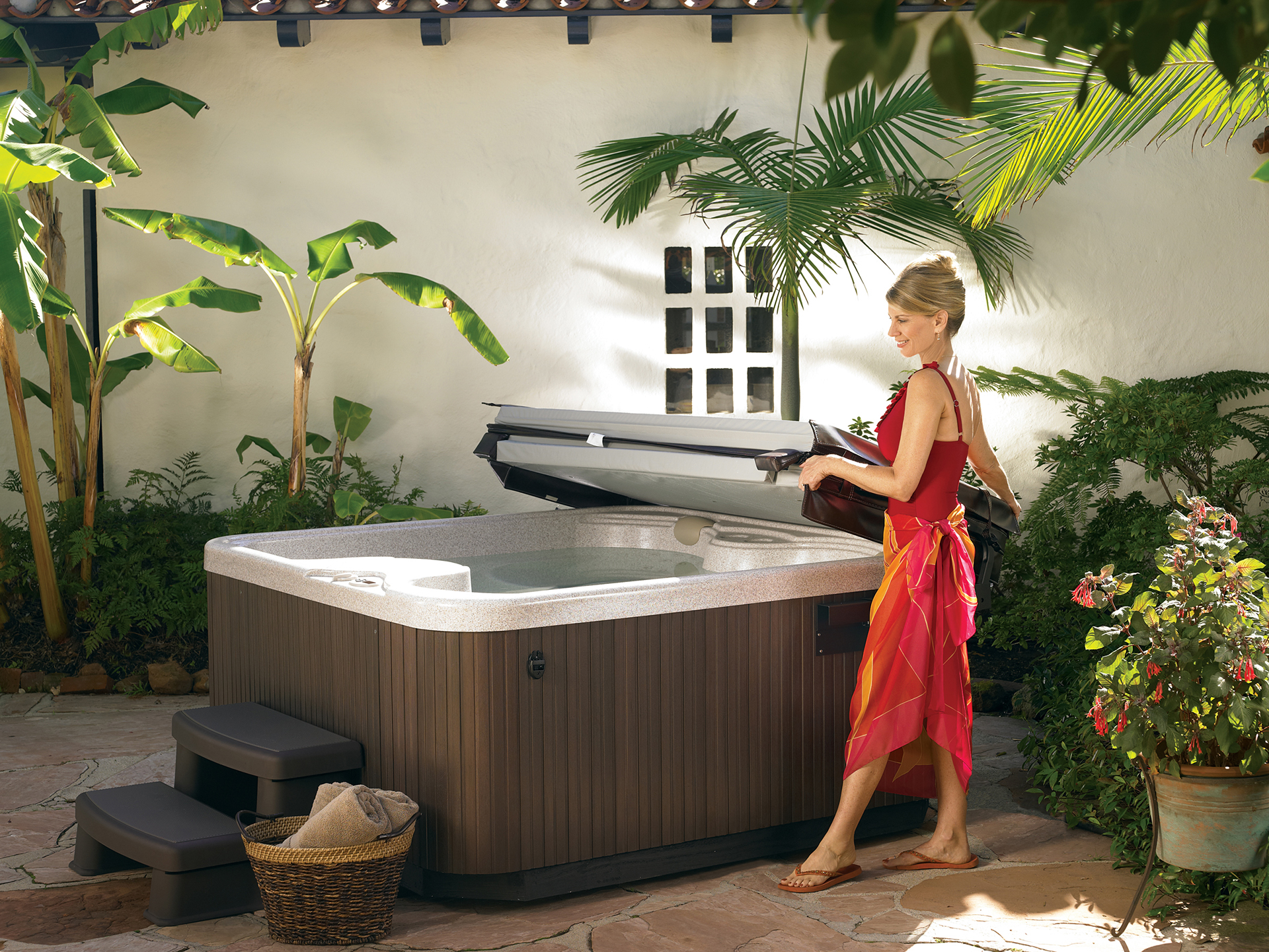 morning spas tub cover tubs youtube to springs watch hot and spring night