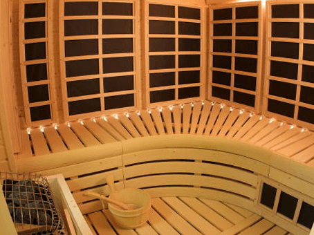 A sauna is more than just relaxing!