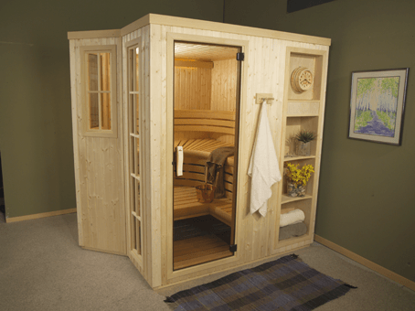 Rocky Mountain Pools and Spas designer Sauna luna-01