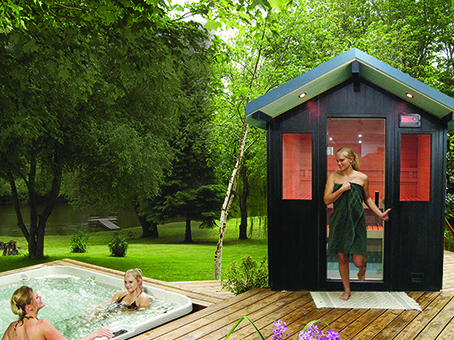 Rocky Mountain Pools and Spas Finnleo outdoor sauna 3