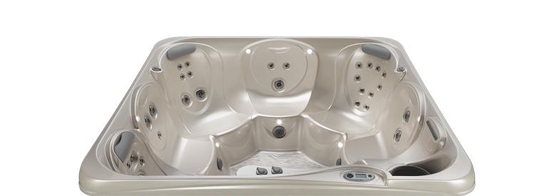 tempo-shell-pearl hot tub
