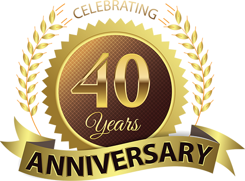 We are 40 years old now and would like to share with you to celebrate in wellness!