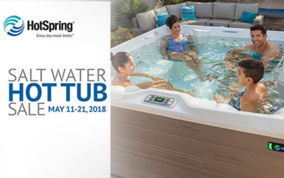 Salt Water Hot Tub Sale 2018