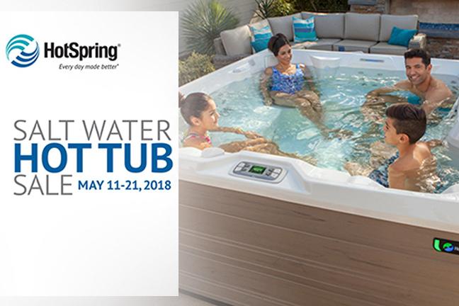 Salt Water Hot Tub Sale 2018